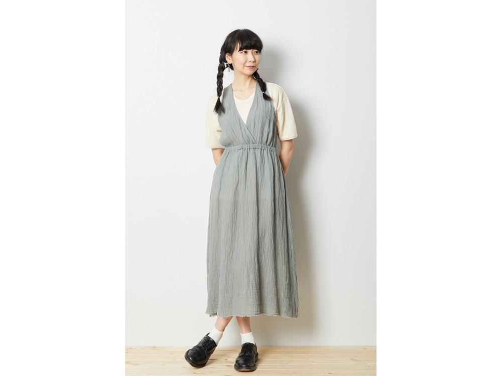 ウォッシュドリネン ドレス 1 ナチュラル