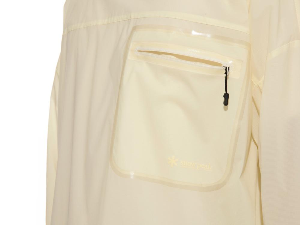 Rain&Wind Resistant Poncho 2 White3