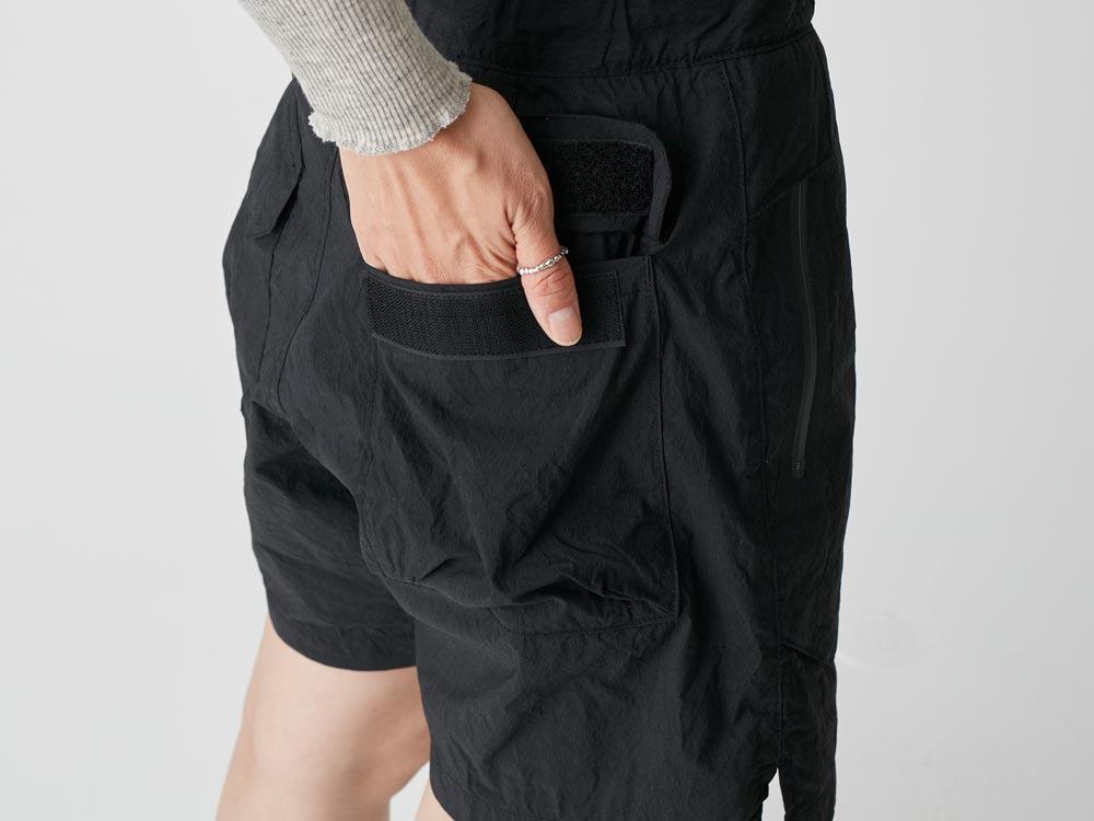 Indigo C/N  Anorak Shorts 2 Black7