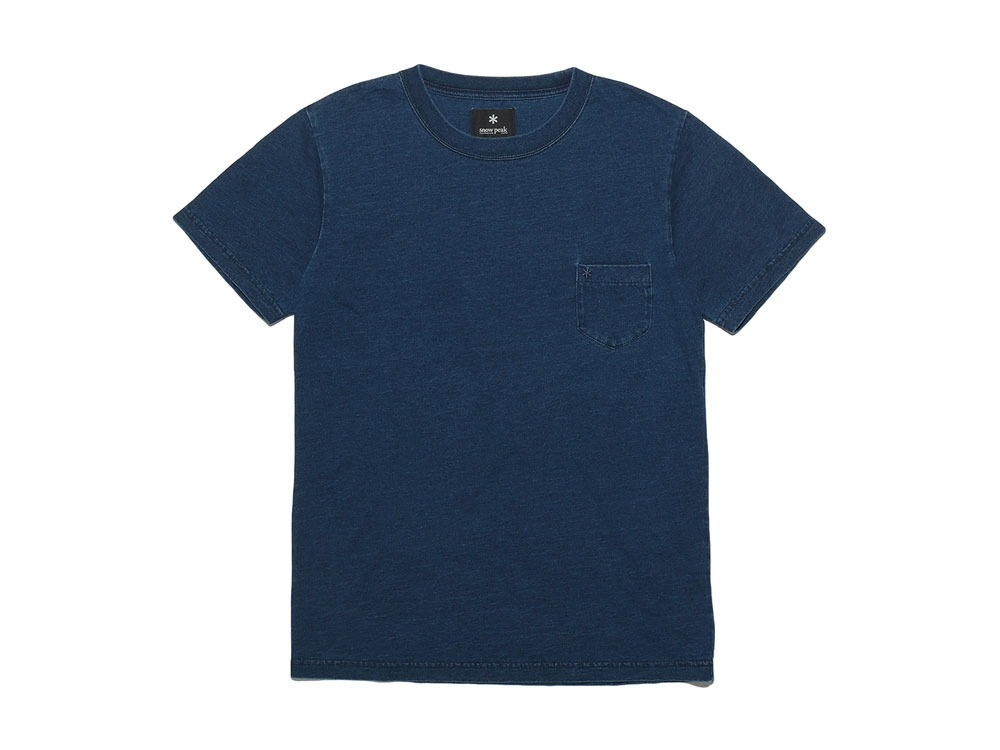 Pocket Tshirt 1 Indigo0