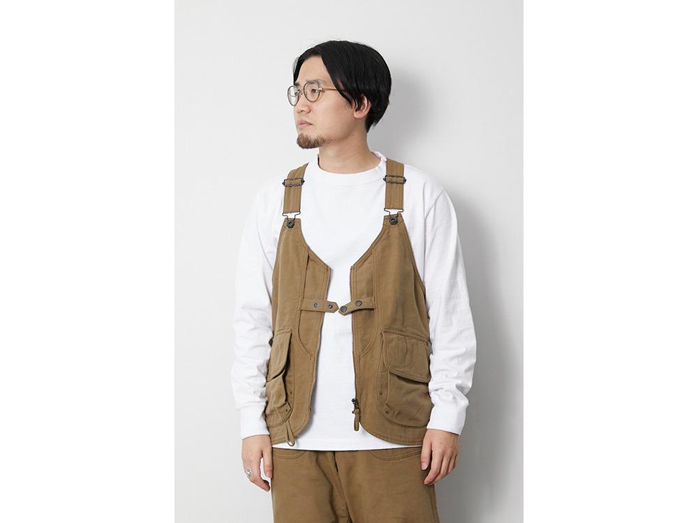 TAKIBI Duck Vest M Olive