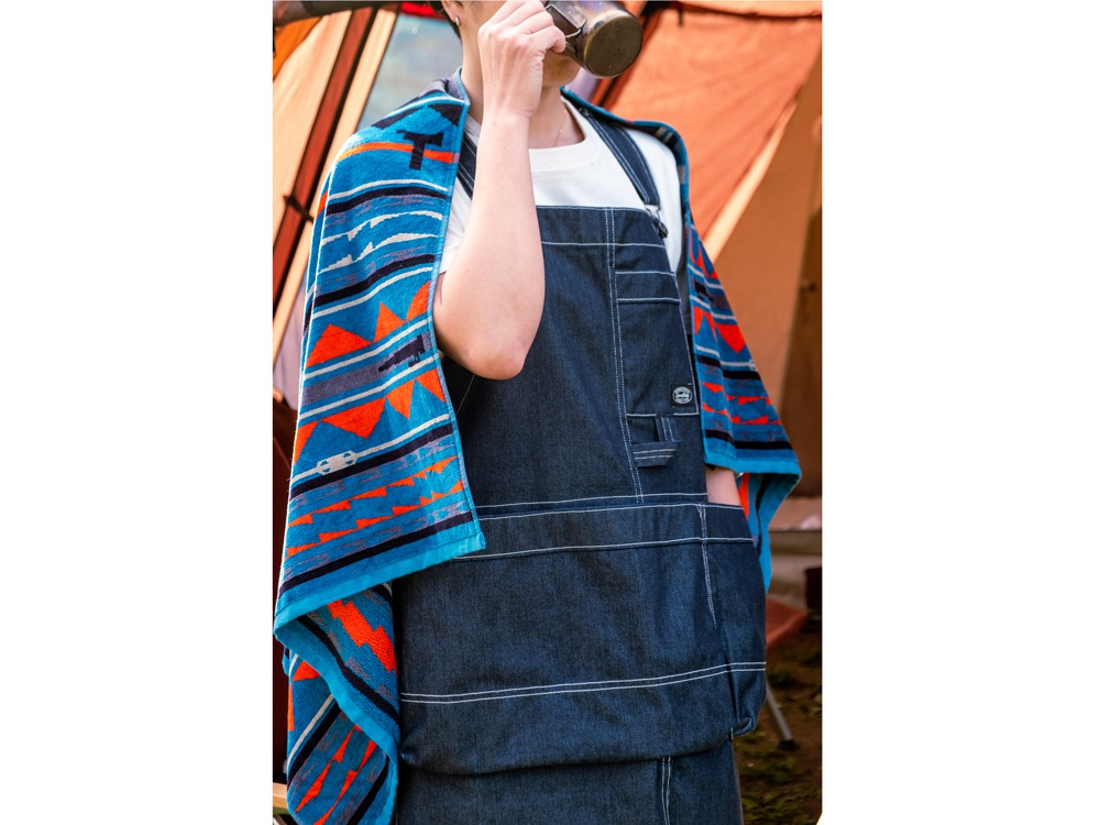 SP / PENDLETON TOWEL BLANKET Mid One Blue