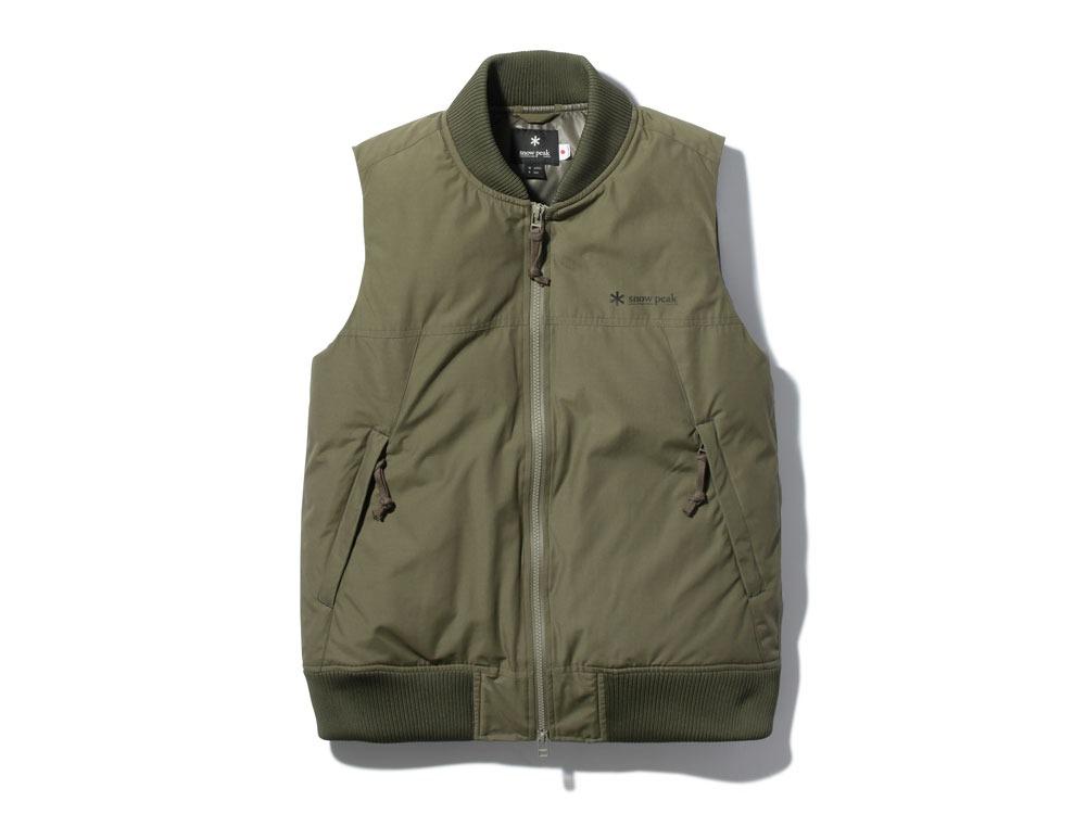 FR Down Vest XL Olive0