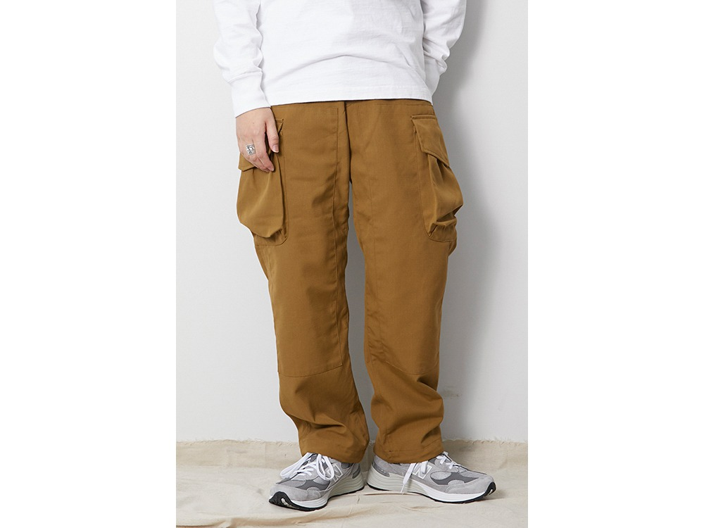 TAKIBI Pants XL Brown