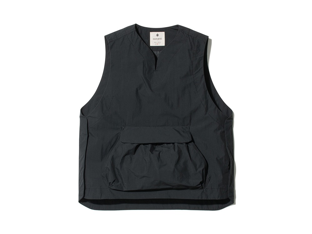 Proof Canvas Vest M Black