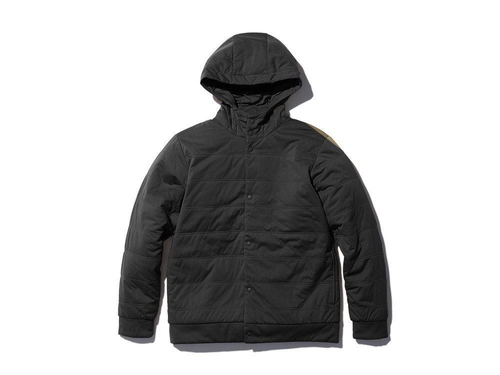Flexible Insulated Parka M Black