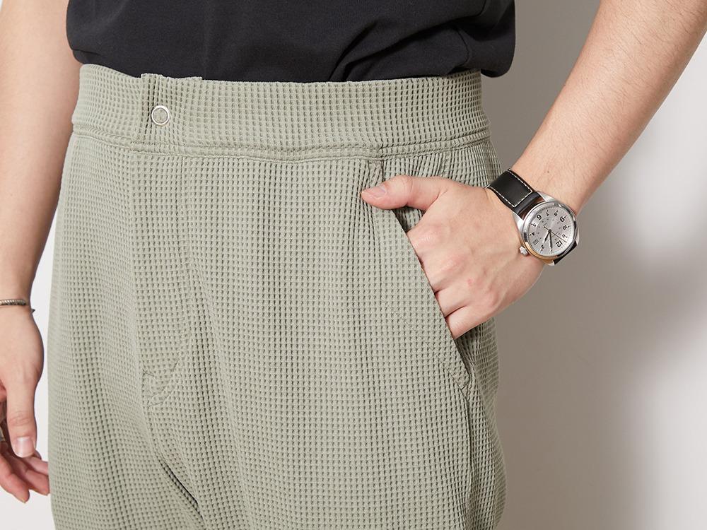 Dry Waffle Pants L Charcoal