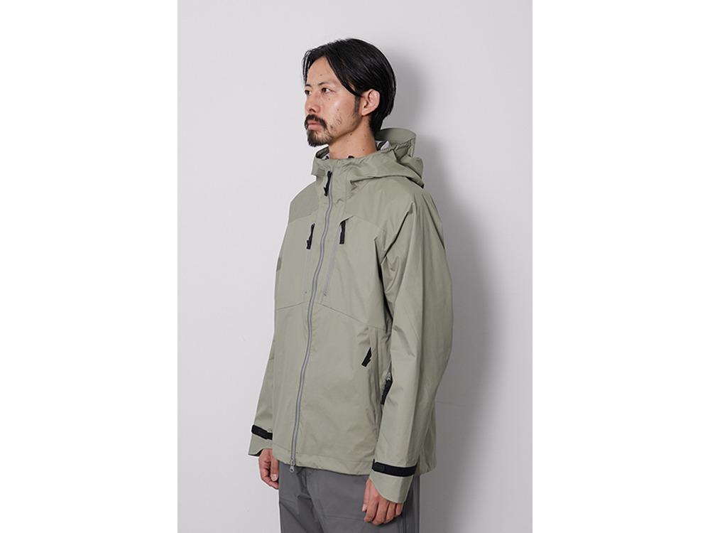 2.5L Rain Jacket M Greykhaki