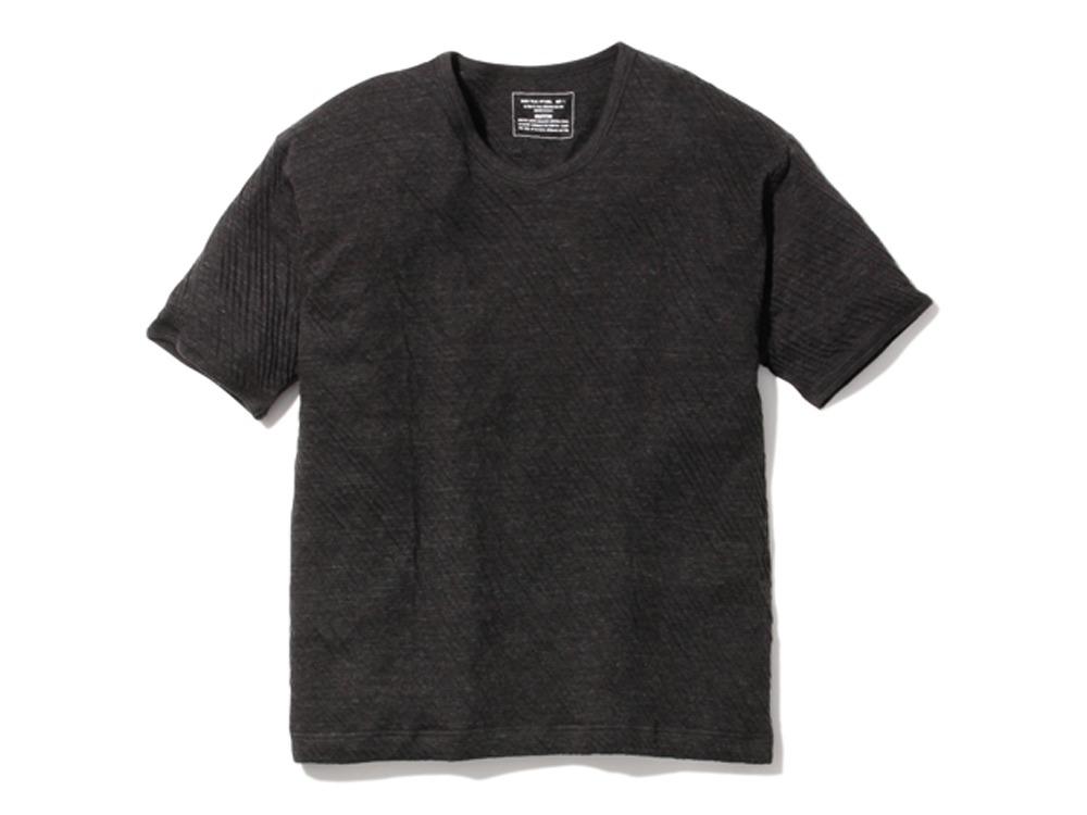アルティメイトピマ ダブルニット Tシャツ L ブラック