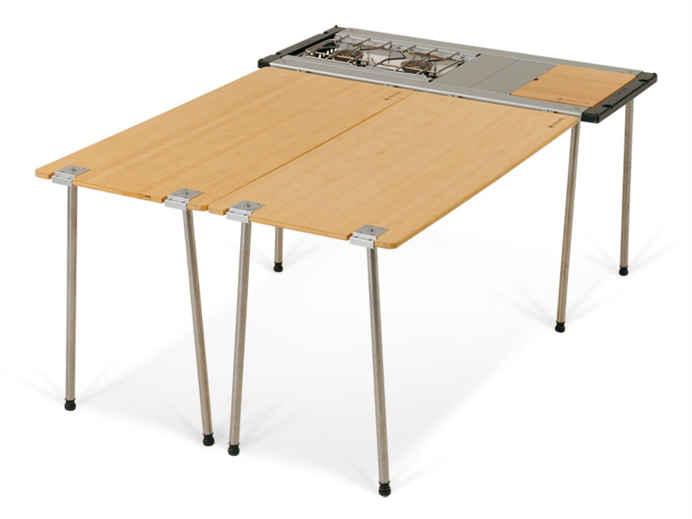 Iron Grill Table Frame Long 660 Leg Set7