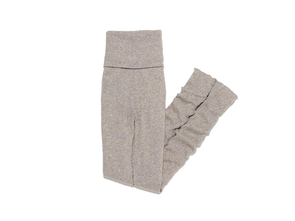 W's Yak/Cotton Rib Leggings 1 M.Grey