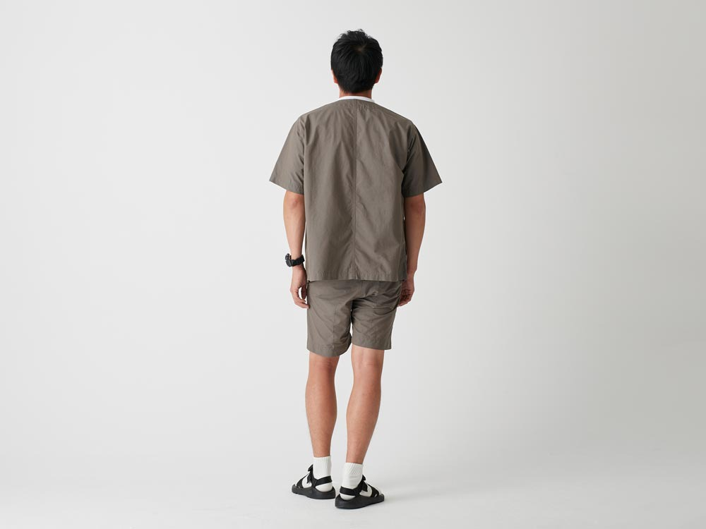 C/N Typewriter Shorts 1 Olive3