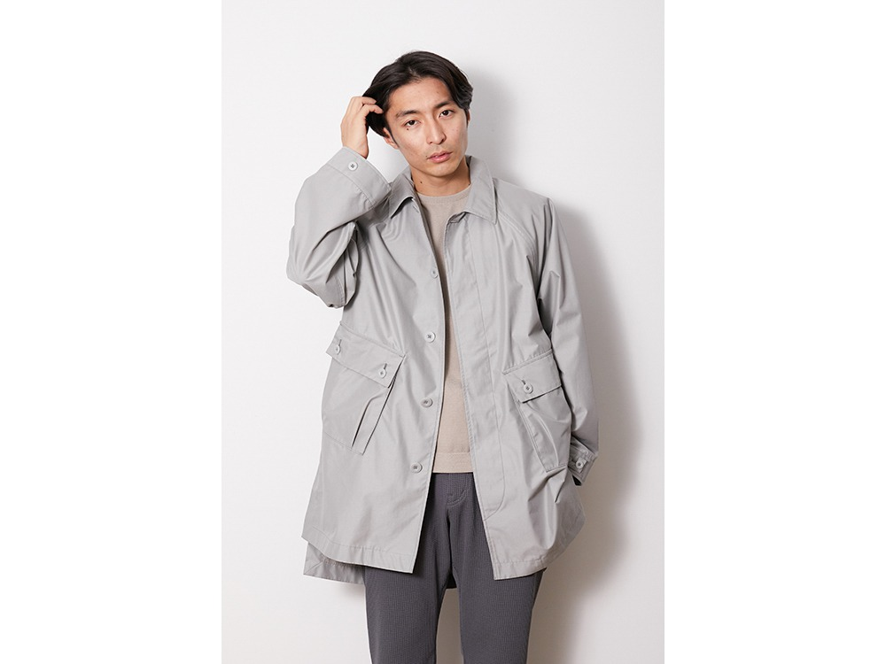 FR Over Coat S Grey