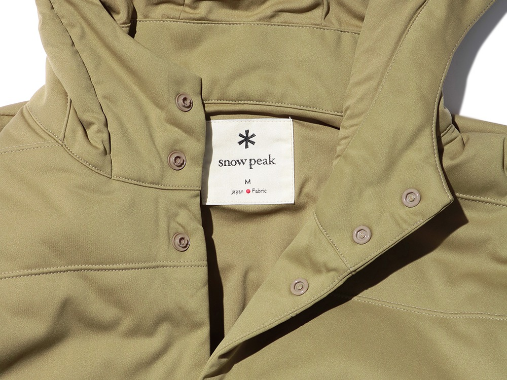 Flexible Insulated Parka 1 Mossgreen