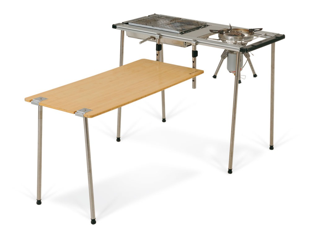Iron Grill Table Frame Long 830 Leg Set8