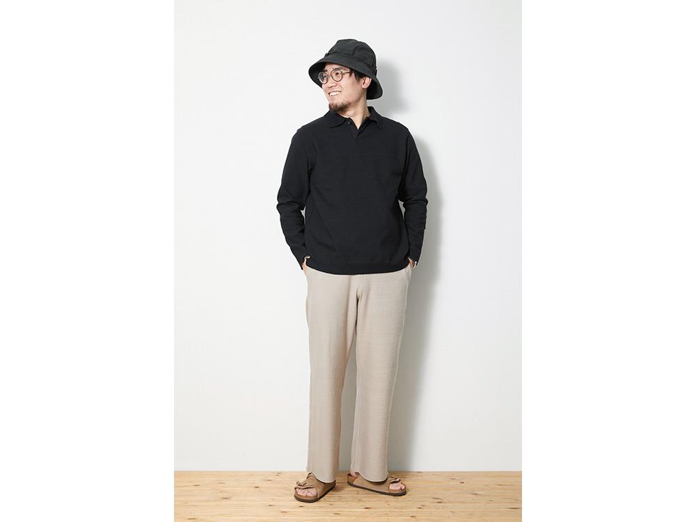 Co/Pe Dry Pants Wide M Black