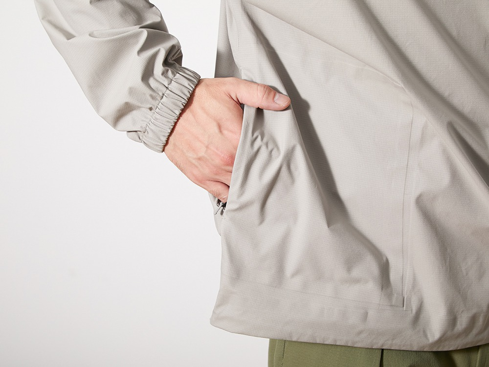 3L Soft Shell Pullover L Grey