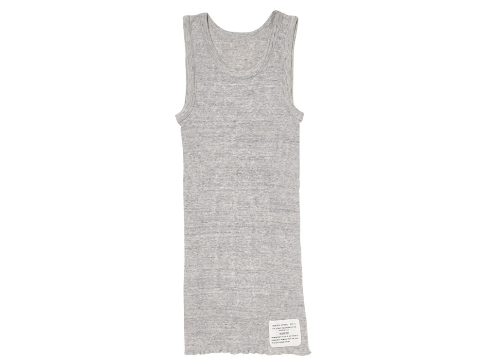 W's Ultimate Pima Rib Tank top 2 M.Grey0