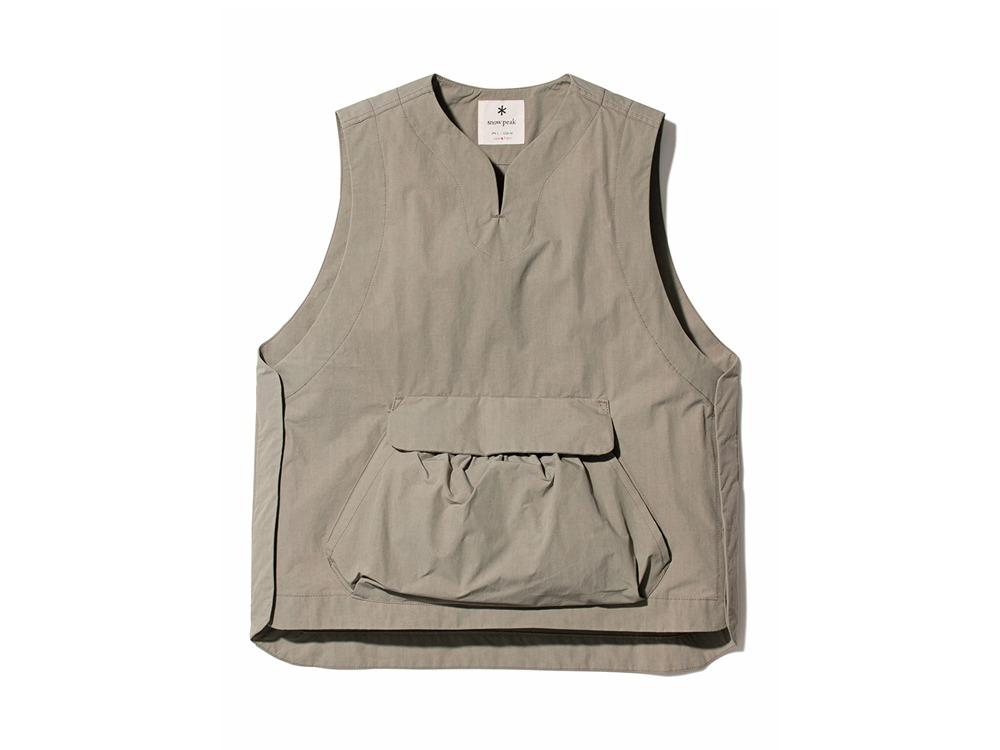 Proof Canvas Vest 1 Beige