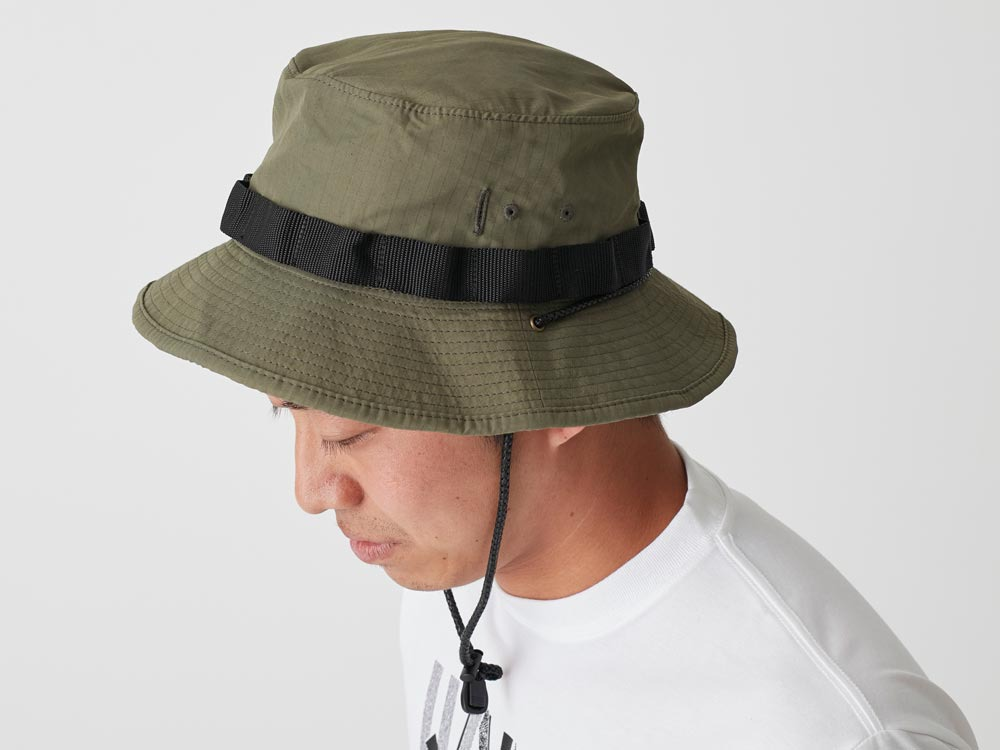 Packable Hat 2 Olive1
