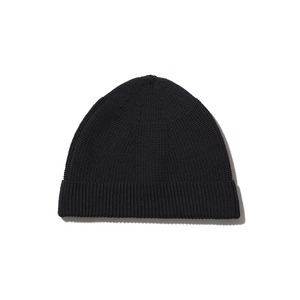 WG Strech Knit Cap One Black