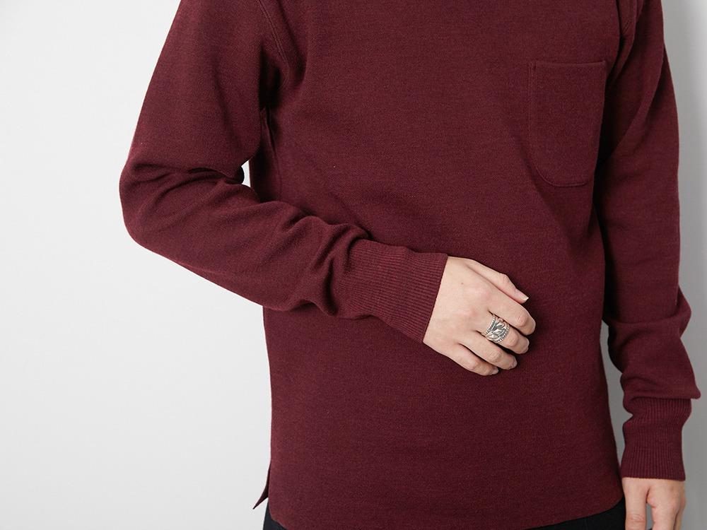 Li/W/Pe Crewneck Long Sleeve L Grey