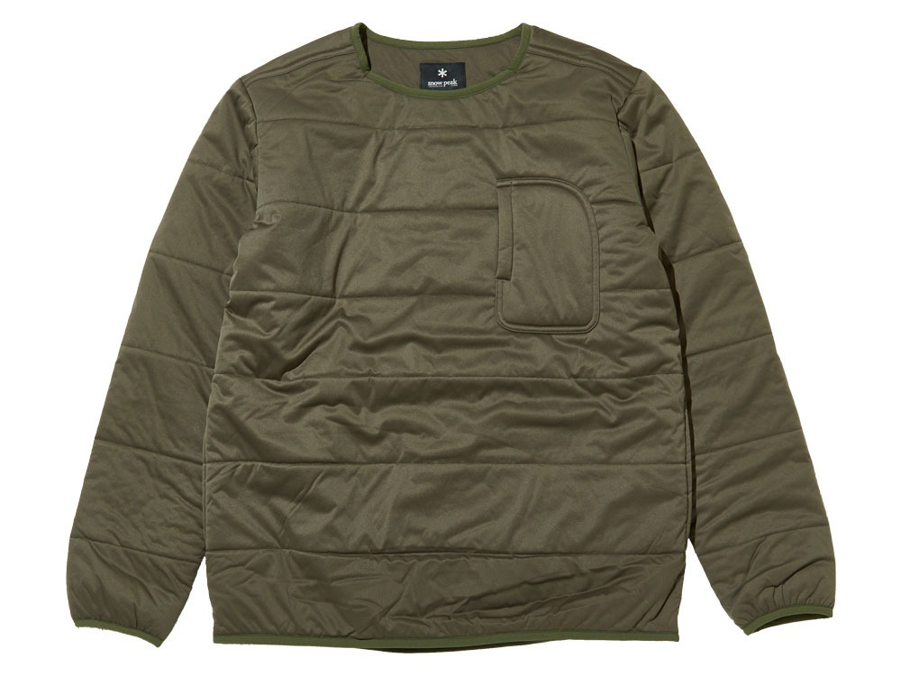 Flexible Insulated Pullover1Olive