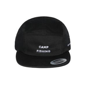 CAMPFISHING CAP ブラック フリー