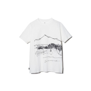 CF Graphic Tee XL White