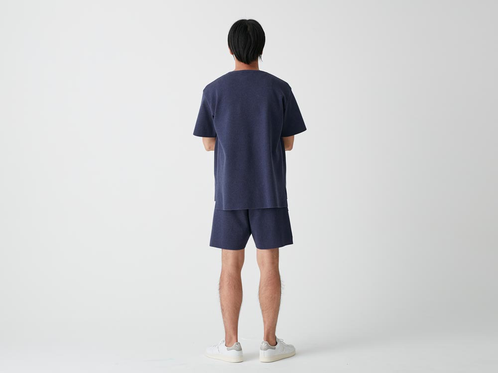Cotton Dry Shorts S Navy3