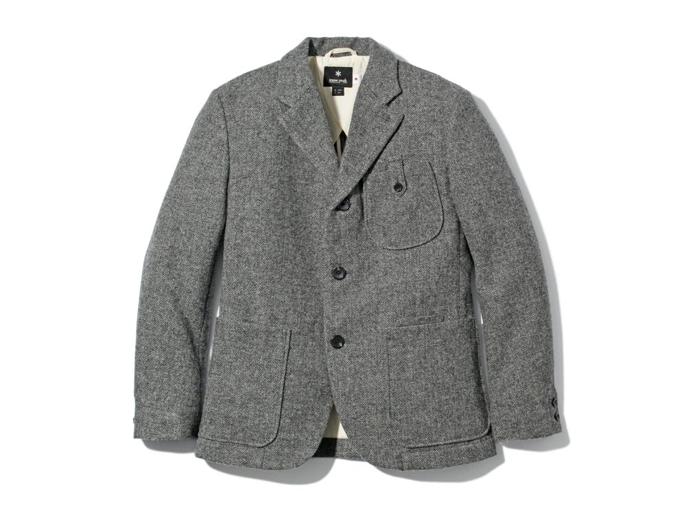 Camping Wool Jacket M Grey0