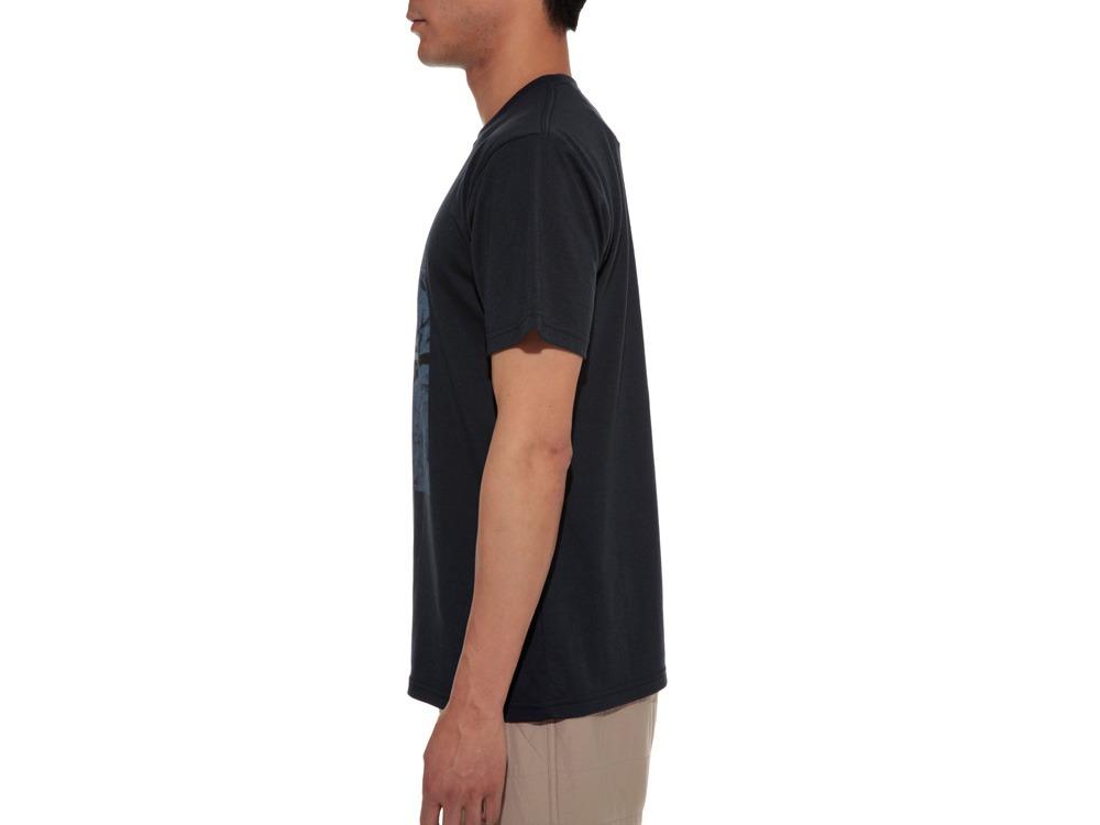 Rock Wall Printed Tshirt M Navy3