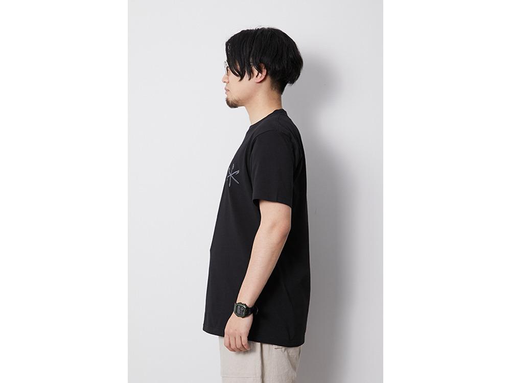 Printed Tshirt Peg & Hammer M Black
