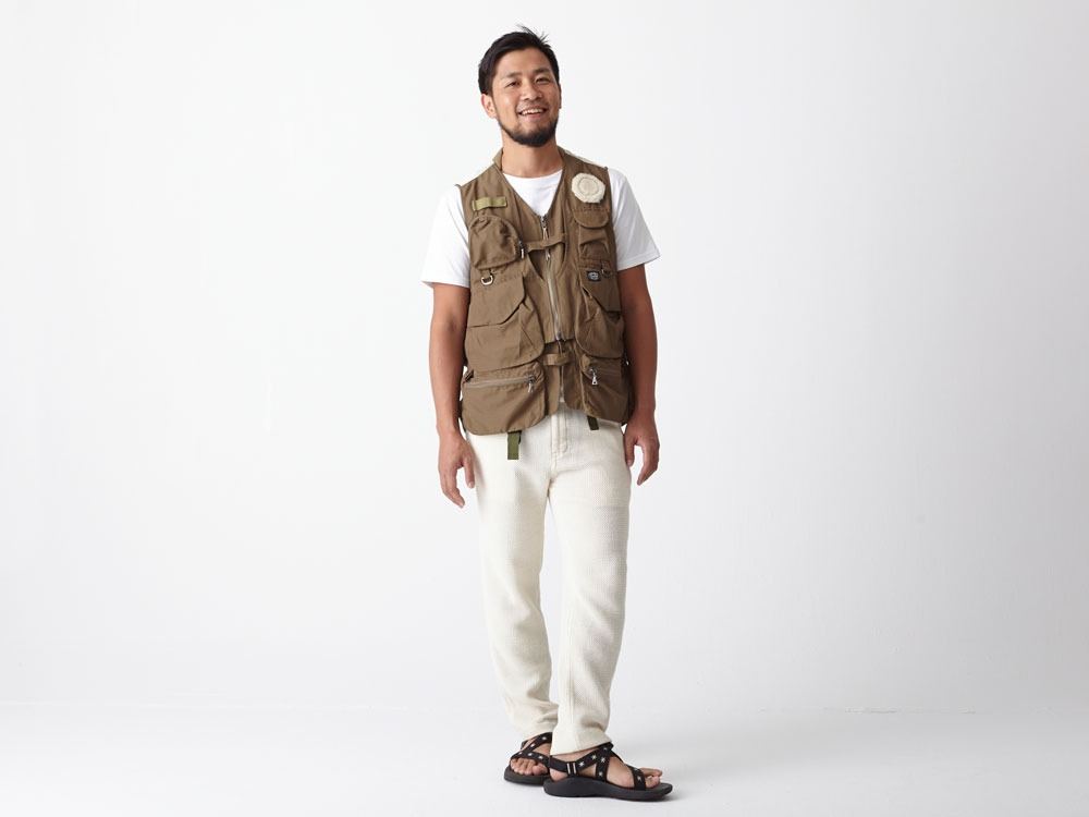 Utility Fishing Vest #2 1 Brown1