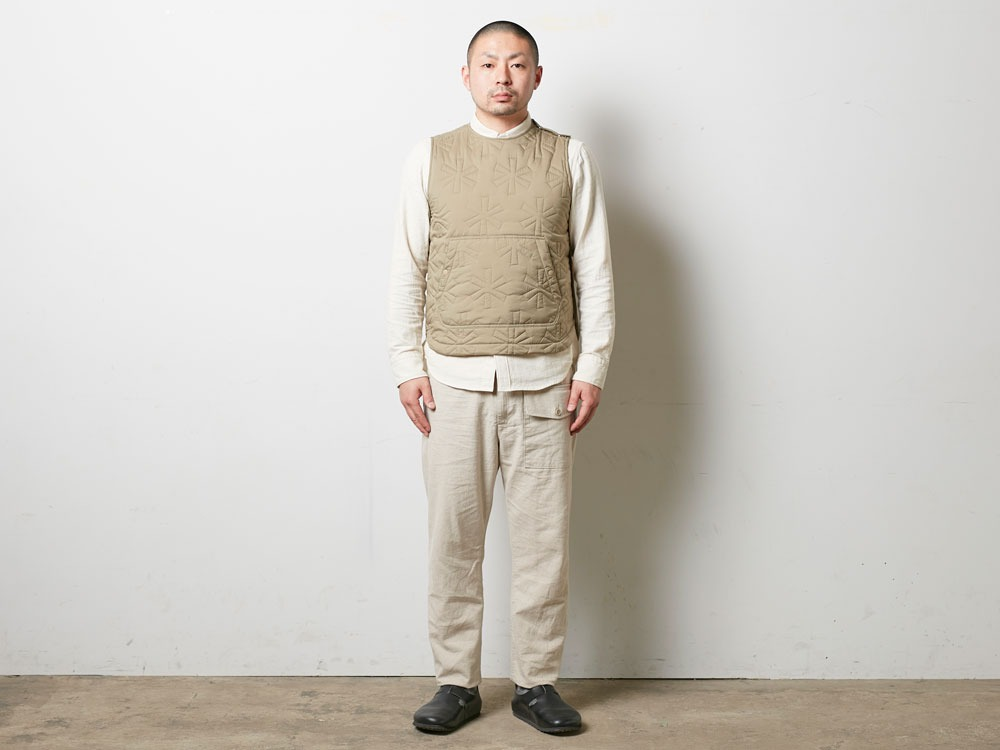 Safari Linen Pants M Beige1