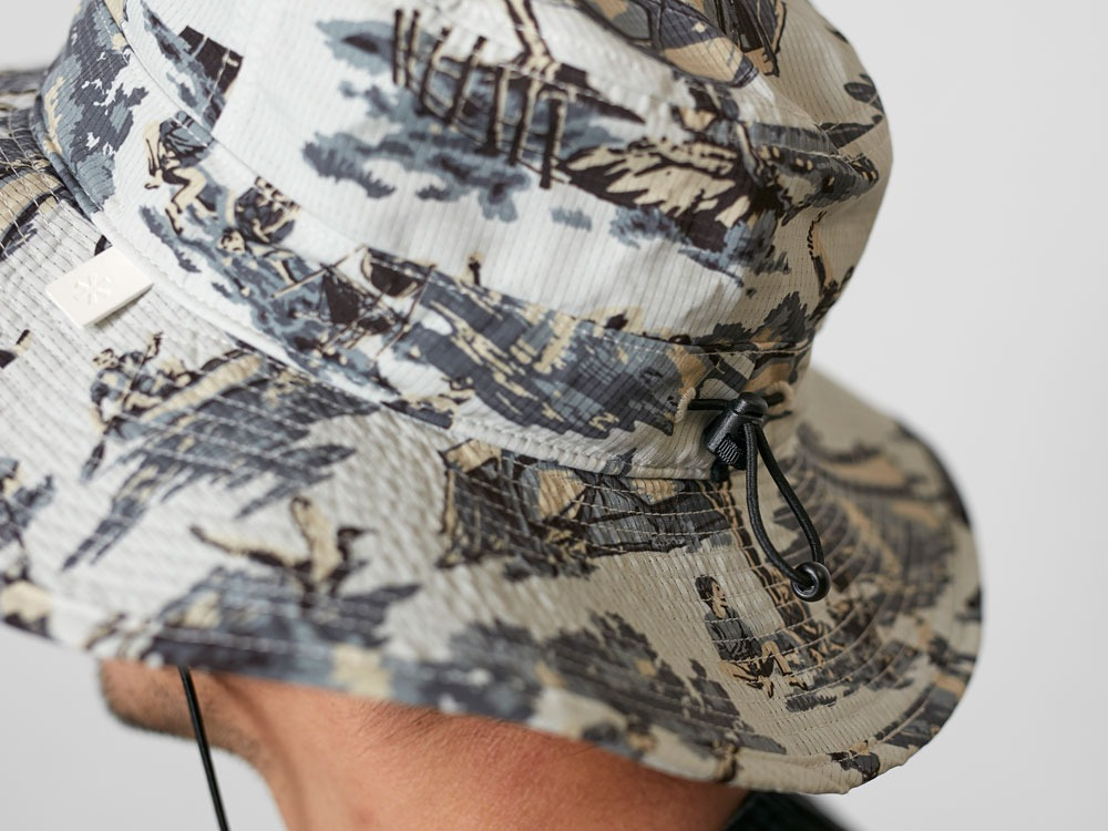 PrintedFieldHat one Beige(FieldPT)2