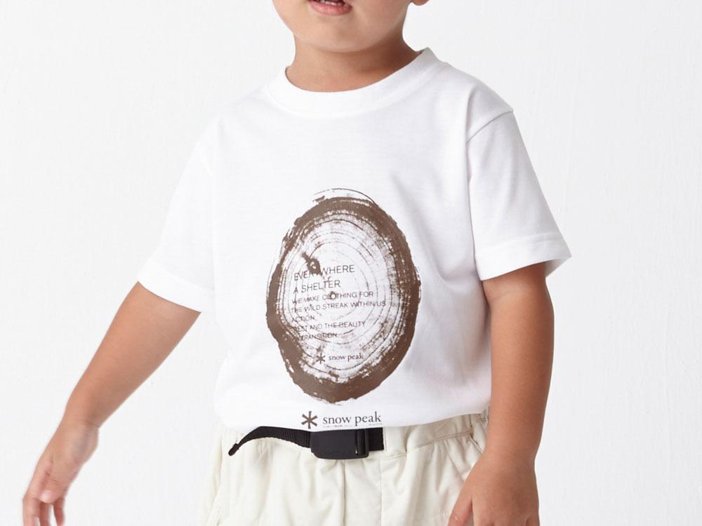 Kid's Printed Tshirt:Woodcut 2 White0