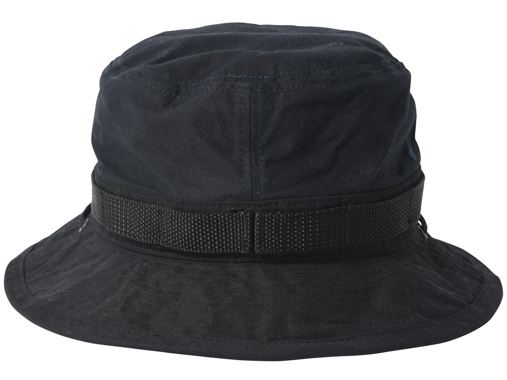 Paraffin Wax Safari Hat 2 Navy1