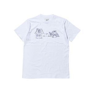 グラフィティホームテントティーシャツ