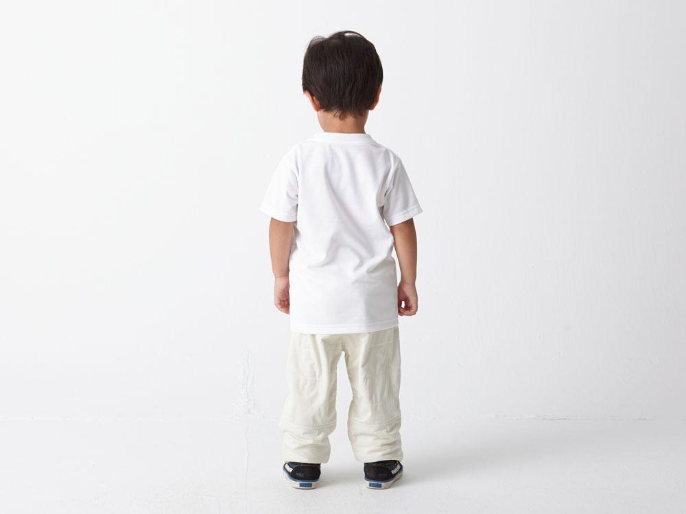 Kid's Printed Tshirt:Camp Field 1 Grey2