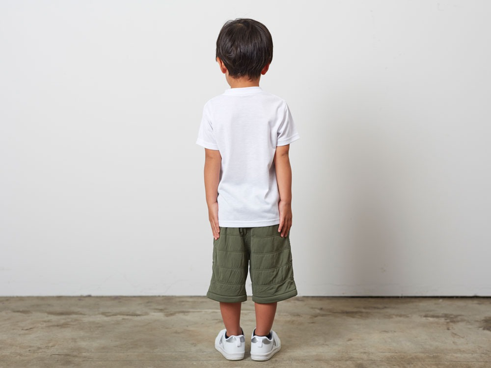 Kid'sQuickDryTshirt/RainCamo 3 White3