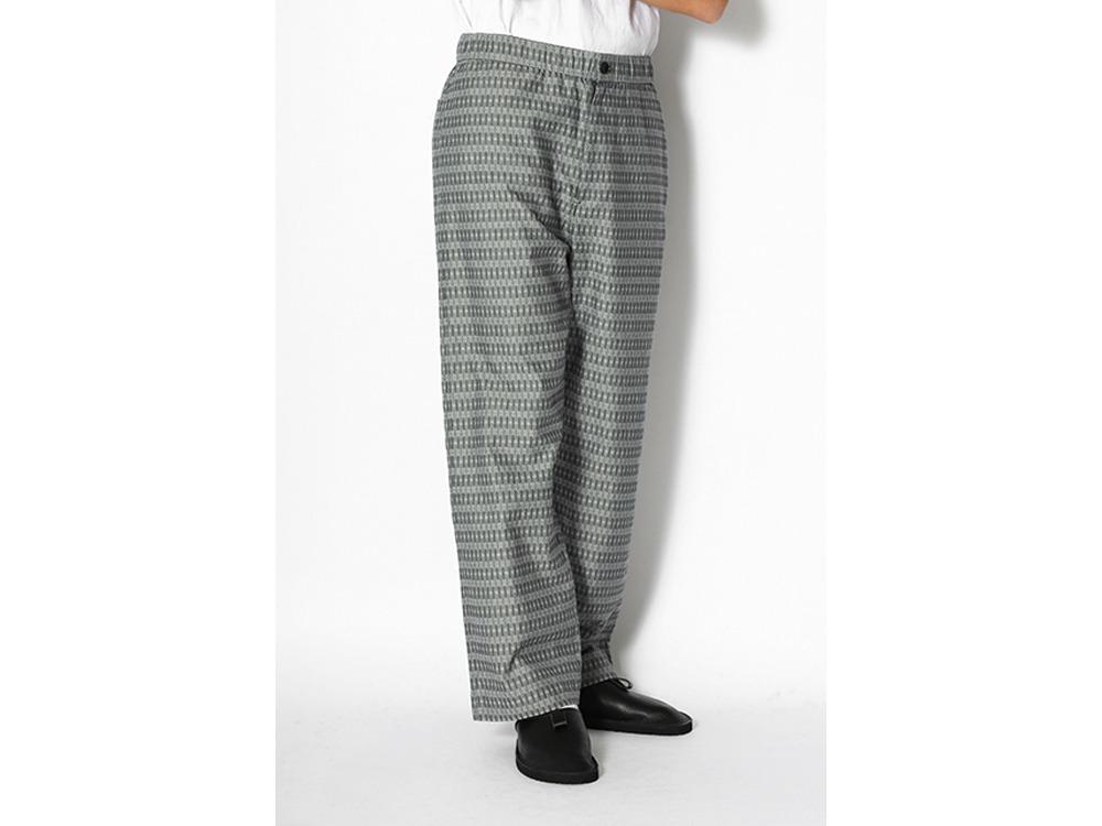 Cotton Dobby Easy Pants M Black