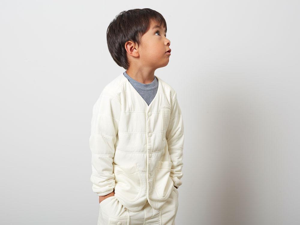 KidsFlexibleInsulatedCardigan 1 White8