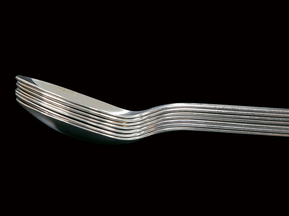 All Stainless Dessert Fork1