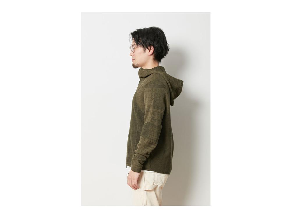 ホールガーメント ニットジャケット 1 Brown