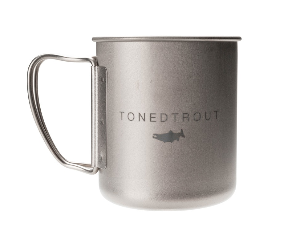 SP×TONEDTROUT Titanium Single Mug