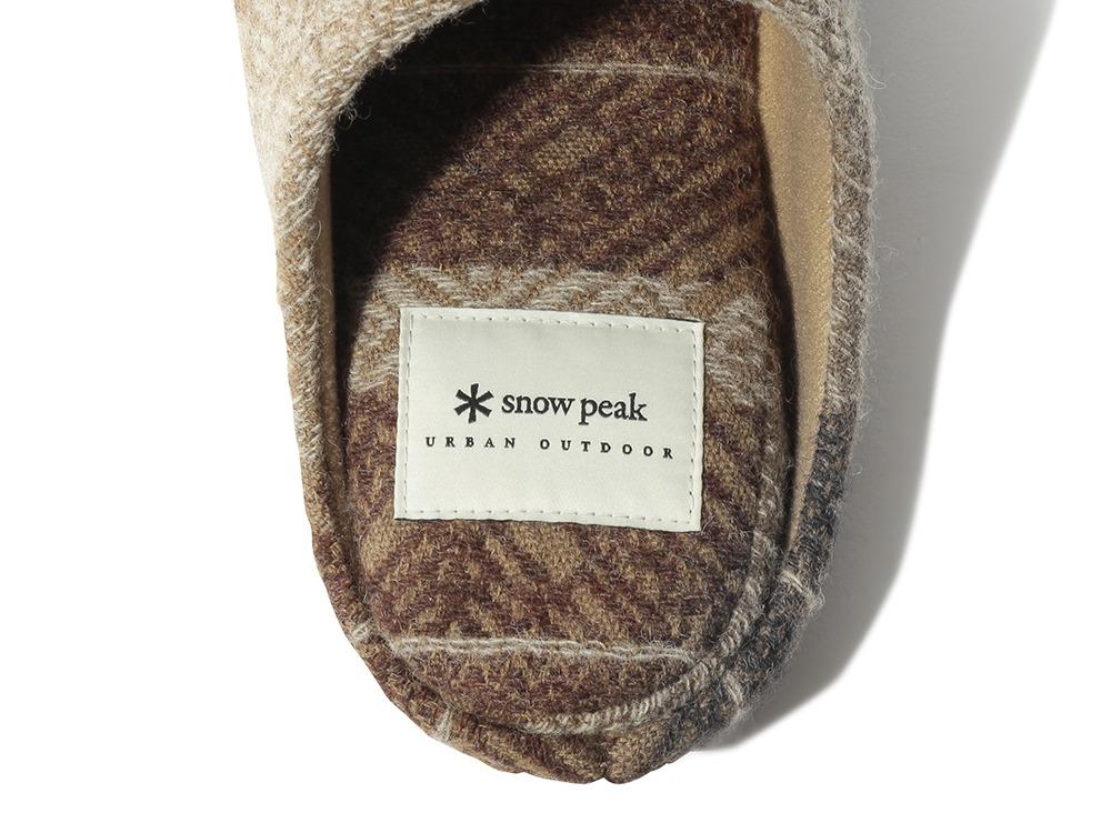 Shetland Cotton JQ Room Shoes 1 Grey