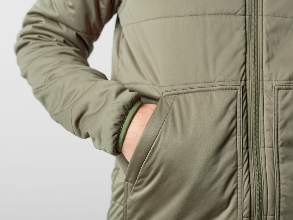 Flexible Insulated Hoodie S Olive6