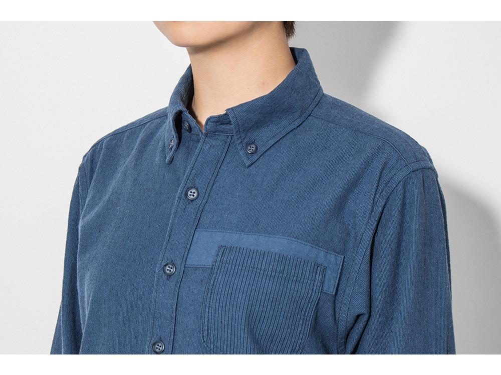 現代のワークシャツ  S Navy