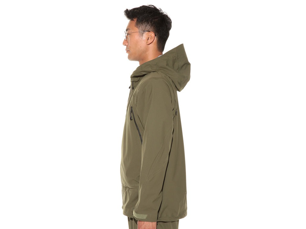 3L Light Shell Jacket S Olive3